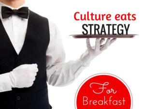 Культура съедает стратегию на завтрак